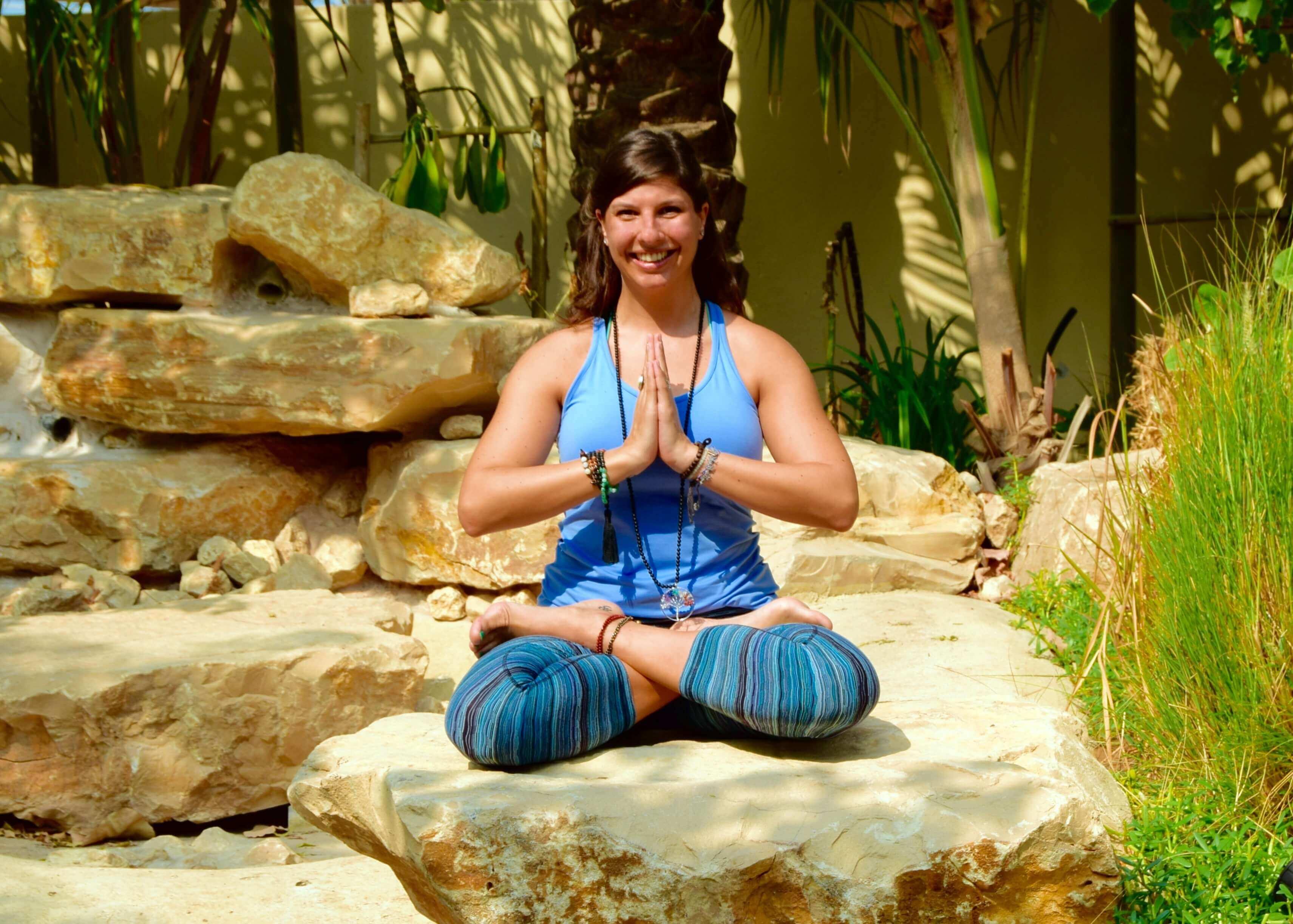 Chiara Galli is a RYT200 vinyasa yoga teacher